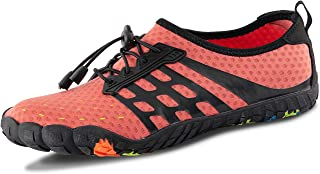 LZ Mens Womens Unisex Breathable Water Shoes Quick-Dry Barefoot Aqua Socks Beach Swim Shoes for Surf Yoga Walking