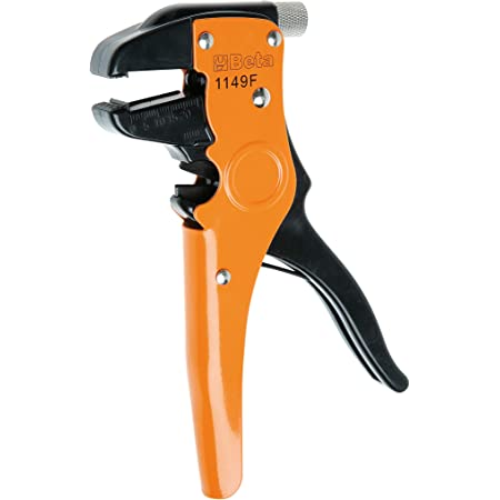 Beta 1149F - Pinze Spellafili Frontale Autoregolabile con Dispositivo di Taglio, Back/Orange