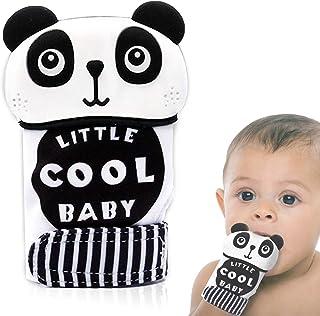 Muffole con cinghia regolabile per il sollievo del bambino gioco cvhe stimola la dentizione per bambini e bambine INNObeta Guanti per dentizione dei bambini alleviare le gengive doloranti