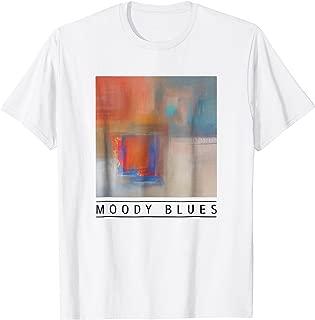 MOODY BLUES (B) Abstract Art T-Shirt
