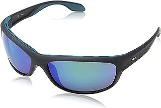 Fila sonnenbrillen SF9328 U28P brille Herren Schwarz linse