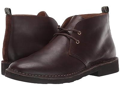 Polo Ralph Lauren Talan Chukka (Brown Leather Smooth Leather) Men