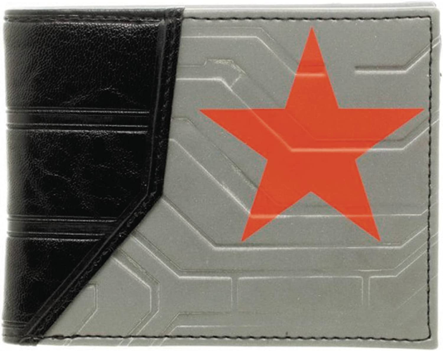 Marvel Captain America Civil War Winter Soldier Logo Bifold Wallet