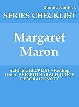 Margaret Maron - SERIES CHECKLIST - Reading Order of SIGRID HARALD, JUDGE DEBORAH KNOTT