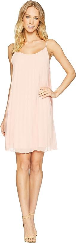 Sunburst Pleat Dress