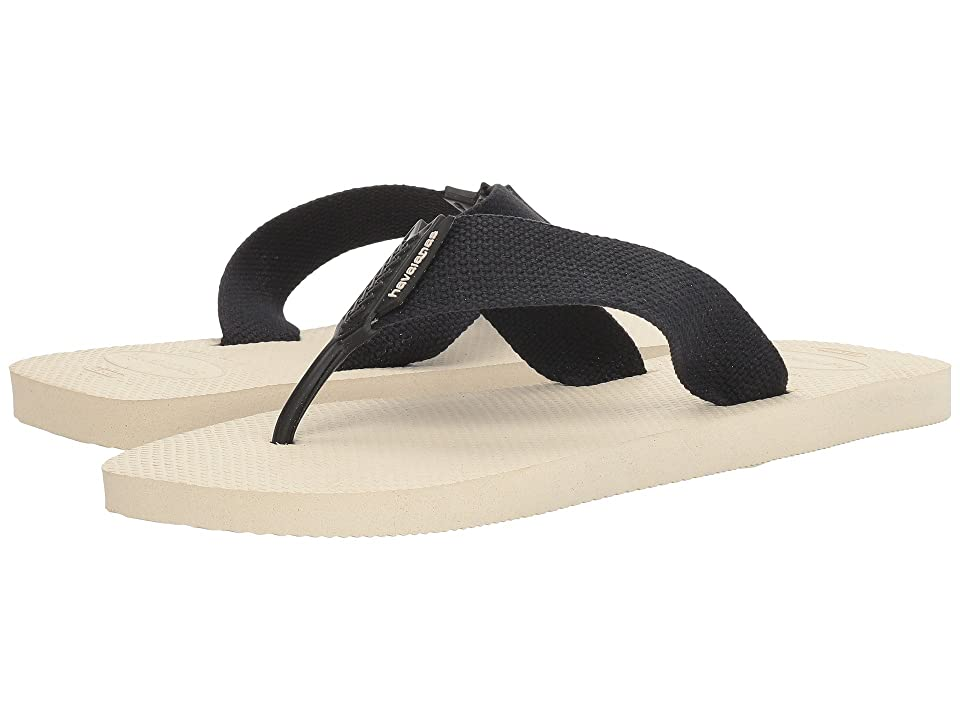 Havaianas Urban Basic Flip Flops (Beige/Black) Men