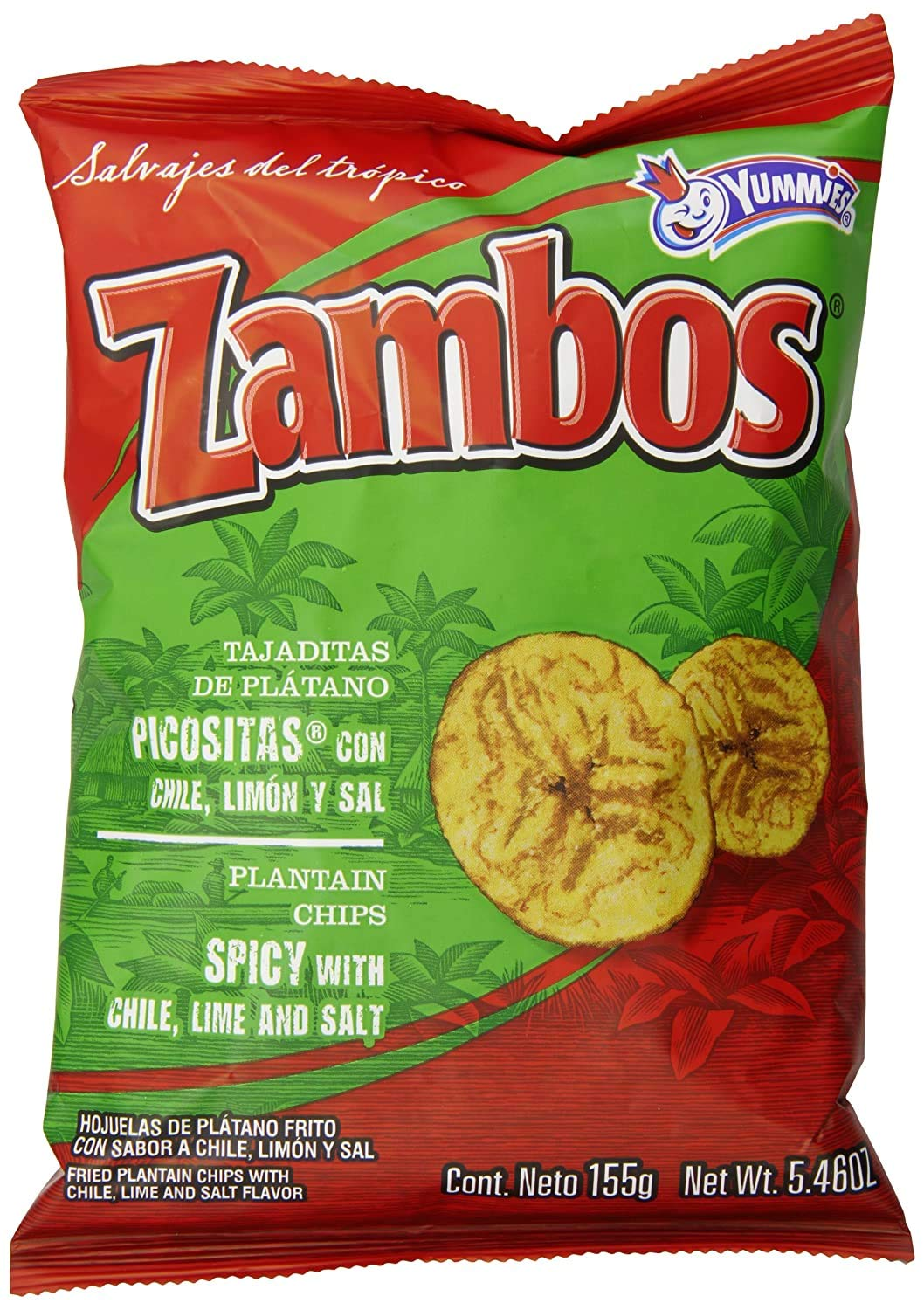 Zambos Plantain Chips: price Spicy with and Lime Now on sale Salt Chili Tajaditas