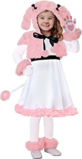 Toddler Pink Poodle Costume