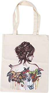 Reusable Painting Bag, Elegant Painting Tote Bag Firm Non‑Toxic Practical Stylish for Shoulder Bag for Family for Friends ...