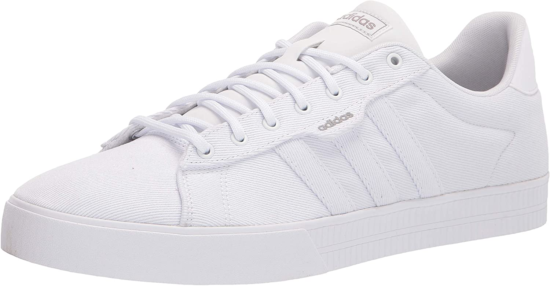 adidas mens free Daily 3.0 55% OFF Skate Shoe US 9 Dove White Grey
