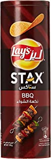 Lays Stax BBQ Potato Crisps, 170 gm, 95370646