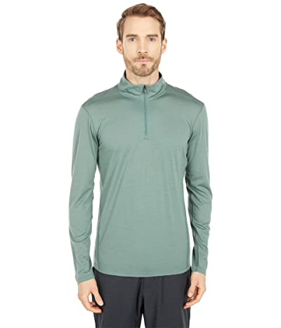 Smartwool Merino 150 Base Layer 1/4 Zip (Sage) Men