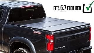 RDJ Trucks Travel-PRO 65-Series Premium Hard Aluminum Tri-Folding Tonneau Bed Cover - Fits Dodge Ram 2009-2018 (5.7ft Bed)