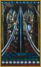 Framed Joseph Stella Giclee Canvas Print Paintings Poster Reproduction(The Brooklyn Bridge)
