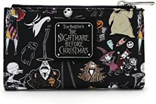 x The Nightmare Before Christmas Character Bi-Fold Wallet