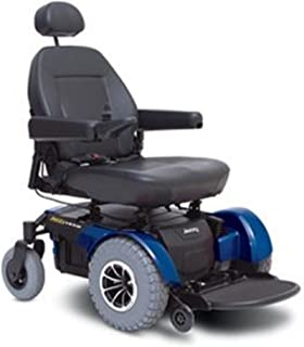 Pride Mobility - Jazzy 1450 - Heavy Duty Power Chair - Jazzy Blue