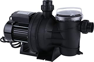 Green Expert 3/4HP Pool Pump with Clean Cartridge Filter High Flow Max 3962GPH for Above Ground Pools, 115V, Single Speed