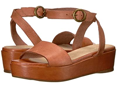 Seychelles Monogram (Rust Leather) Women