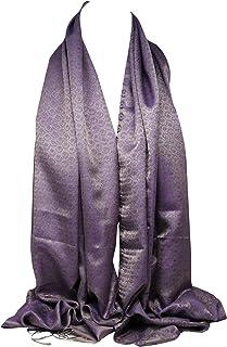Bullahshah Frauen ethnischen Pashmina Stil seidig fühlen sich lebendige großen Schal, Schal, Stola, Wrap, Kopftücher