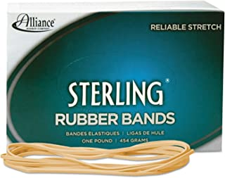 Alliance Rubber 25405 Sterling Rubber Bands Size #117B, 1 Pound Box Contains Approx. 250 Bands (7
