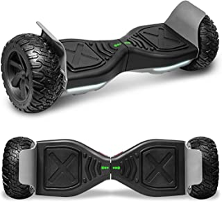 cho All Terrain Hoverboard Off-Road Racing Tyre Hover Board Smart Self-Balancing Dual Motors Electric Scooter with Built-i...