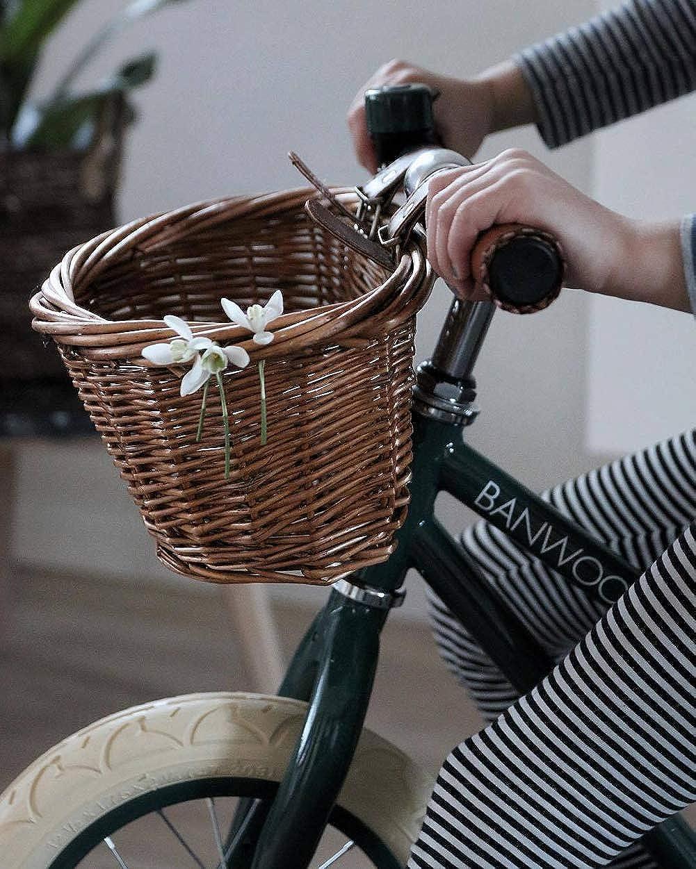 Details about  /1pc Einfache praktische Kinder Fahrradkorb Fahrrad Aufbewahrungsbehälter