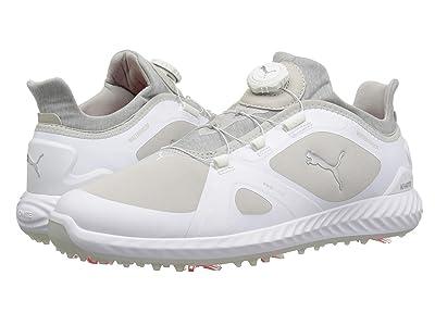 PUMA Golf Ignite Power Adapt Disc (Puma White/Gray Violet) Men