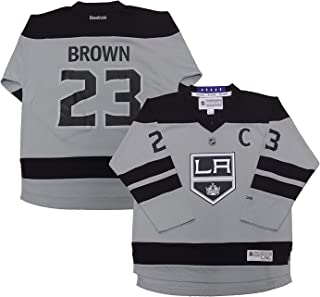 Dustin Brown Los Angeles Kings Gray Alternate Replica Youth Jersey