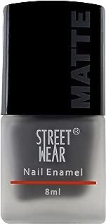 Street Wear Matte Nail Enamel, Cool Grey, 8ml