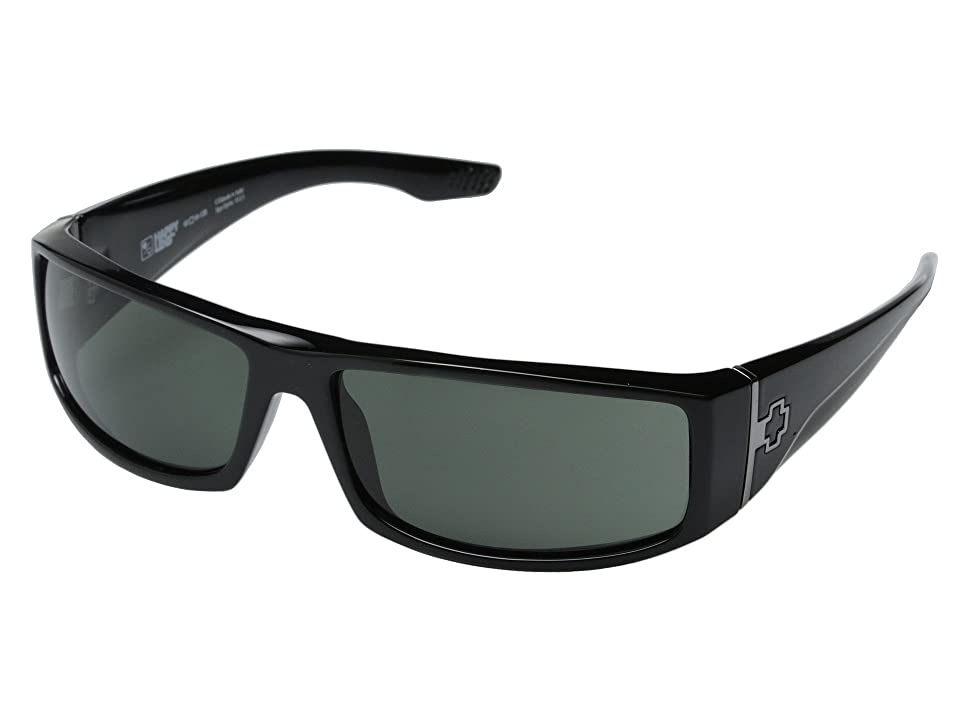 Spy Optic Cooper (Black/Happy Gray Green) Sport Sunglasses