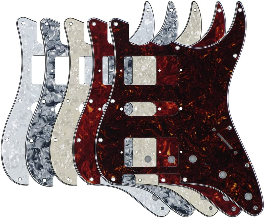 FLEOR 5pcs 定番スタイル 40%OFFの激安セール HSH Pickguards Guitar Mexi American Plate for Scratch