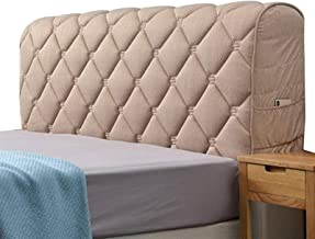 Headboard Cover ThickenCottonBed Head Slipcover All-Inclusive Twin Queen King Leather/Wooden Headboard Decoration (Color :...