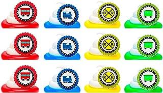 Choo Choo Train Easy Toppers Cupcake Decoration Rings -12pk