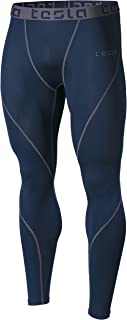 TSLA Men's Compression Pants Running Baselayer Cool Dry...