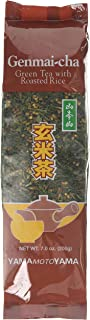 Yamamotoyama Genmai-Cha Green Tea with Roasted Rice, 200 Grams, Pack of 1