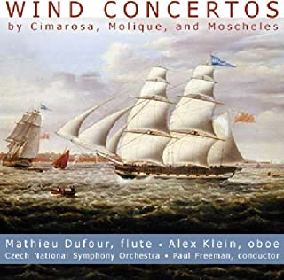 CIMAROSA / MOLIQUE / MOSCHELES: Wind Concertos