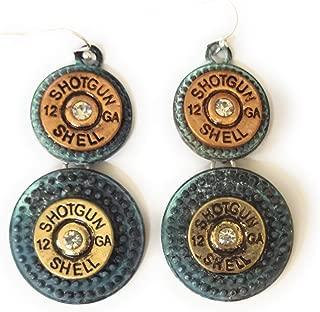 12 gauge shotgun earrings