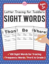 Letter Tracing for Toddlers: 100 Sight Words Workbook and Letter Tracing Books for Kids Ages 3-5 (TueBaah Handwriting Workbook) PDF