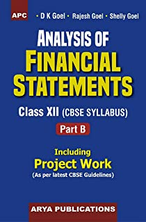 Analysis of Financial Statements Class XII, Part-B (Including Project Work) Paperback