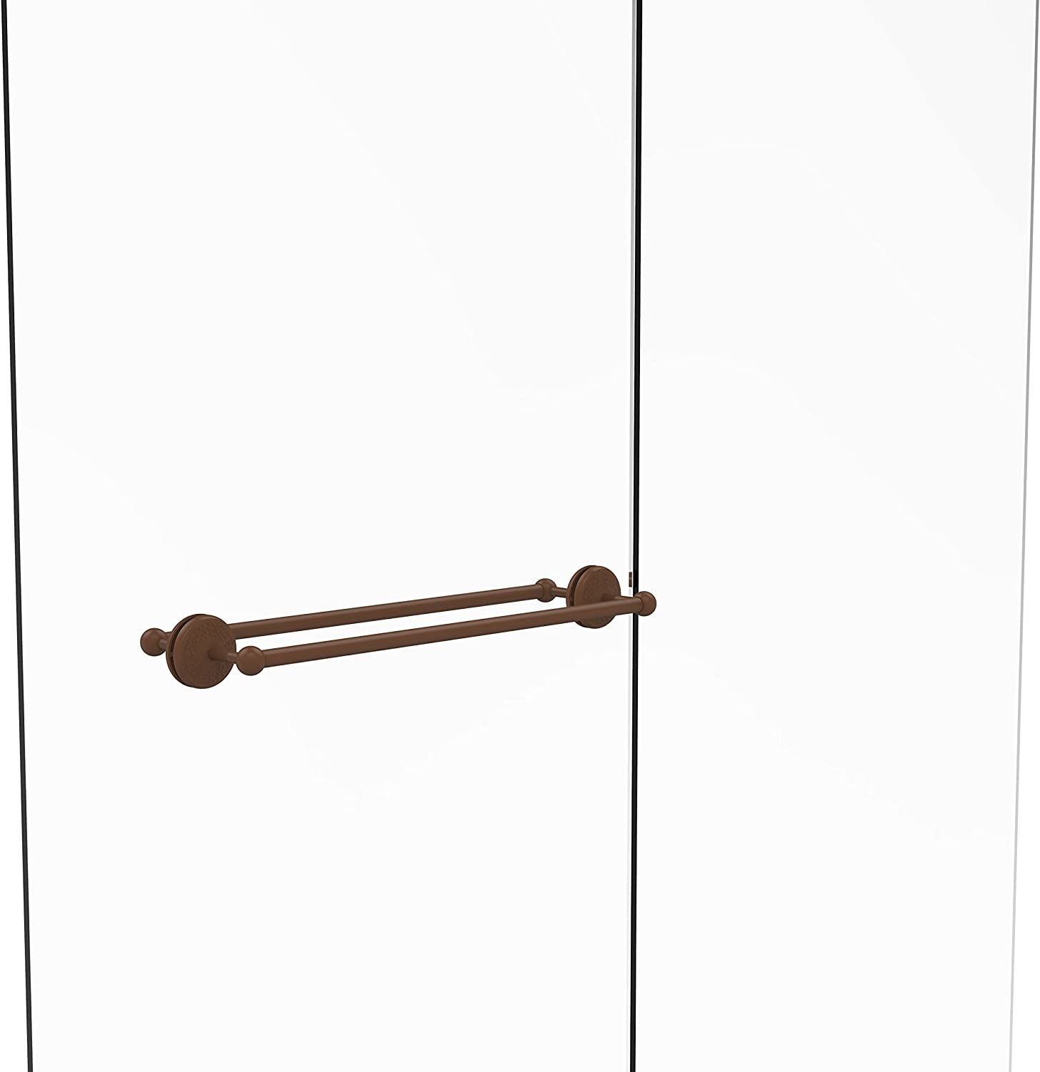 Allied Brass MC-41-BB-24-ABZ Monte Carlo Collection 24  Back to Back Shower Door Towel bar,