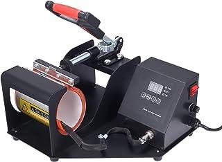 Tasse presse à chaleur, SEAAN- machine à imprimer multifonction DIY, presse à chaud, pour tasses cylindriques, convient po...