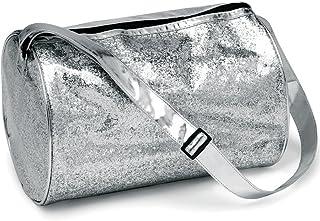 Balera Glitter Dance Bag Cheer Gymnastics Pageant Travel Duffel Silver NO SIZE
