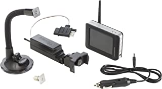Master Lock 4843DATSEN Vehicle Back Up and Hitch Alignment Camera with 3.5 Inch Color Monitor photo
