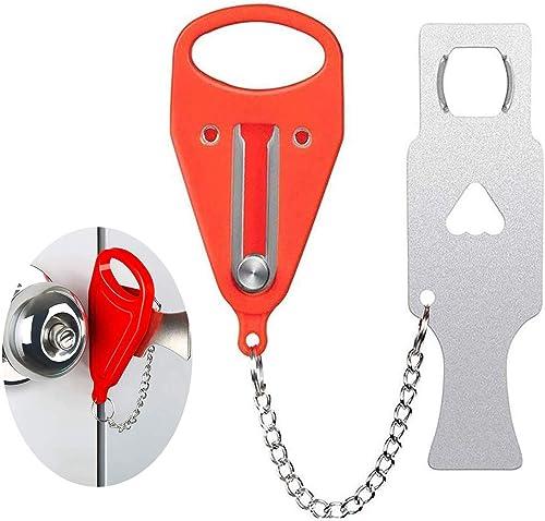 Door Lock Portable Locks Self-Defense Door Stop Travel Travel Accommodation Door Stopper Door Lock Security Device Qu...