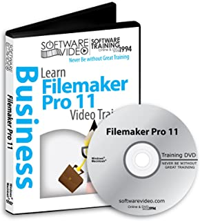 Software Video Learn FILEMAKER PRO 11 Training DVD Christmas Holiday Sale 60% Off training video tutorials DVD