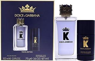 Dolce & Gabbana Gabbana K 2pieces Set for Mne eau De Toilette 100ml Deodorant Stick 75g fluid_ounces, Multi color, woody aromatic, 5.9 Fl Oz