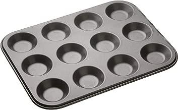12 hole shallow bun tin