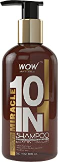 WOW Miracle 10 in 1 No Parabens & Sulphate Shampoo, 300mL