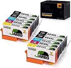 JARBO Remplacer pour HP 364 XL Cartouche d'encre 2Set+2Noir Compatible avec HP Photosmart 5510 5512 5515 5520 5522 6510 6520 6512 7510 7520 B110a B110c B010b B111a B109a HP 3070A 3520 HP 4620 4622