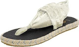 Nalho Women's Yoga Mat Memory Foam Espadrilles Sandals, Ganika Velvet